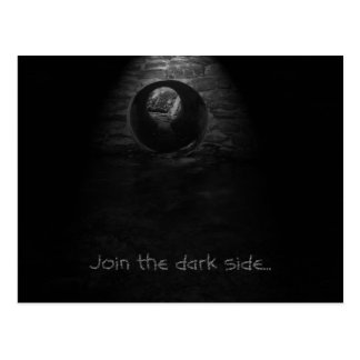 Join the dark side... postcard