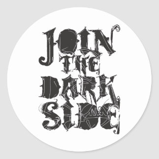 Join The Dark Side Stickers