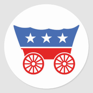 Join the Donner Party Sticker