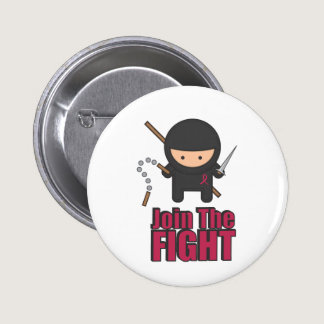Join The Fight Against Breast Cancer Button