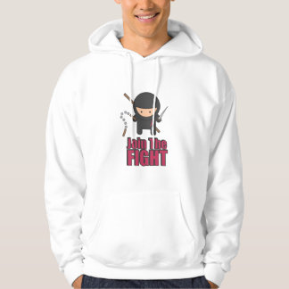 Join The Fight Against Breast Cancer Hooded Sweatshirt