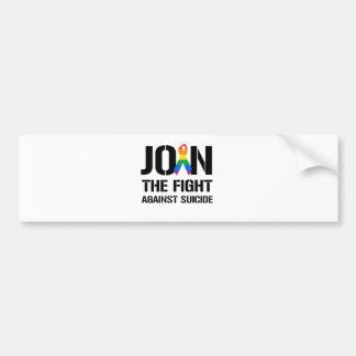 Join the fight against gay suicide bumper sticker