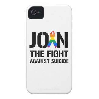 Join the fight against gay suicide iPhone 4 case