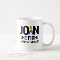 Join the fight against gay suicide coffee mug