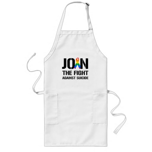 Join the fight against gay suicide long apron