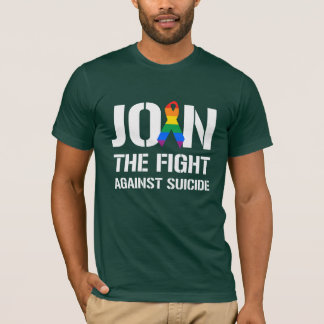 Join the fight against LGBT suicide T-Shirt