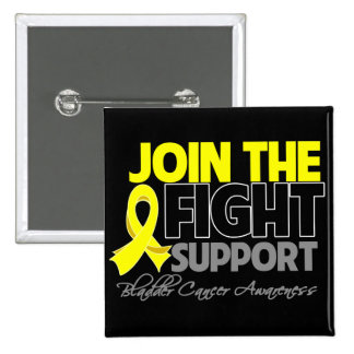 Join The Fight Bladder Cancer Awareness Pinback Button