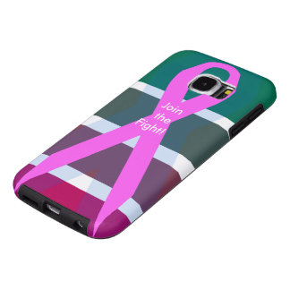 Join the fight! Breast Cancer Samsung Galaxy S6 Case