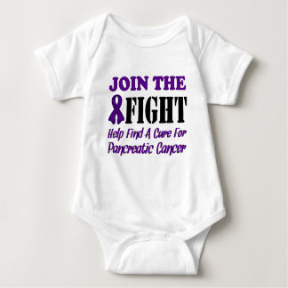 Join The Fight Find A Cure For Pancreatic Cancer Baby Bodysuit