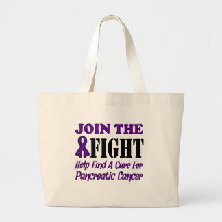 Join The Fight Find A Cure For Pancreatic Cancer Bag