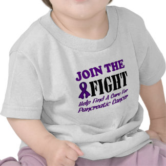 Join The Fight Find A Cure For Pancreatic Cancer T-shirt