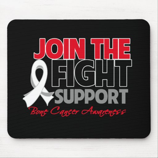 Join The Fight Support Bone Cancer Awareness Mousepads