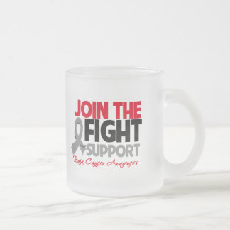 Join The Fight Support Brain Cancer Awareness Coffee Mug