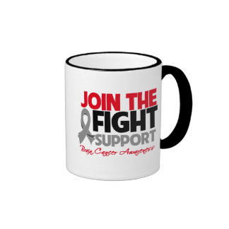 Join The Fight Support Brain Cancer Awareness Mug