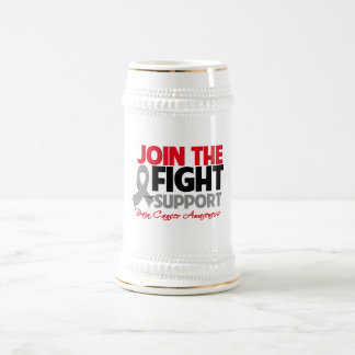 Join The Fight Support Brain Cancer Awareness Coffee Mugs