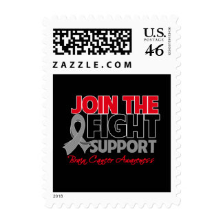Join The Fight Support Brain Cancer Awareness Postage