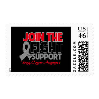 Join The Fight Support Brain Cancer Awareness Stamp