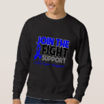 Join The Fight Support Colon Cancer Awareness Sweatshirt