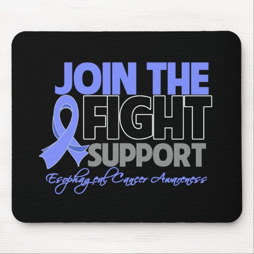 Join The Fight Support Esophageal Cancer Awareness Mouse Pads