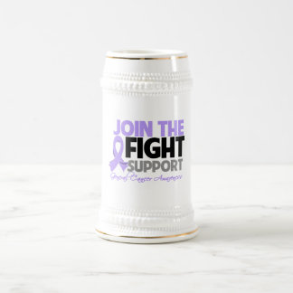 Join The Fight Support General Cancer Awareness 18 Oz Beer Stein