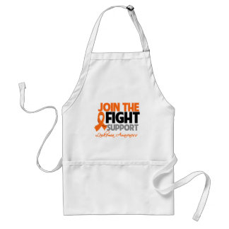 Join The Fight Support Leukemia Awareness Adult Apron