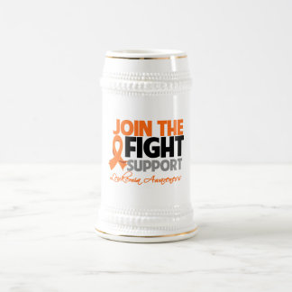 Join The Fight Support Leukemia Awareness Mugs