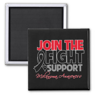 Join The Fight Support Melanoma Awareness Refrigerator Magnet