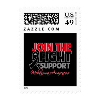 Join The Fight Support Melanoma Awareness Stamp