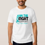 Join The Fight Support Ovarian Cancer Awareness Shirt
