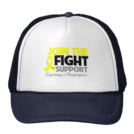Join The Fight Support Sarcoma Awareness Trucker Hats