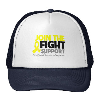 Join The Fight Support Testicular Cancer Awareness Trucker Hat
