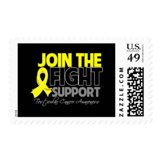 Join The Fight Support Testicular Cancer Awareness Postage