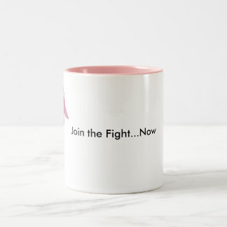 Join the Fight Two-Tone Coffee Mug