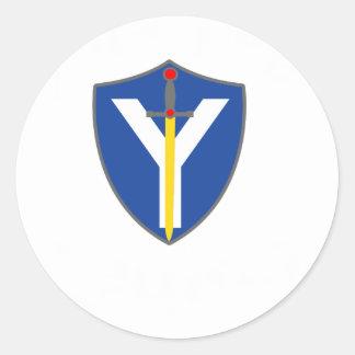 Join The Legion! Classic Round Sticker