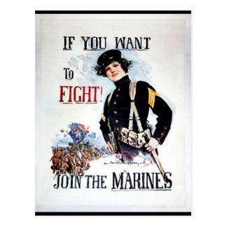 Join The Marines Postcard