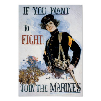 Join the Marines Print