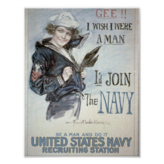 Join the Navy Poster