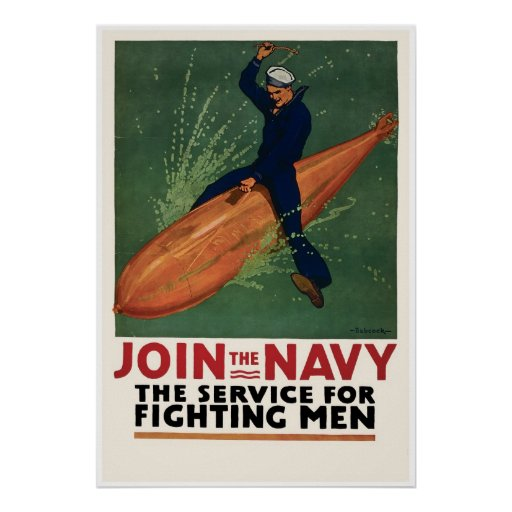 Join the Navy Print