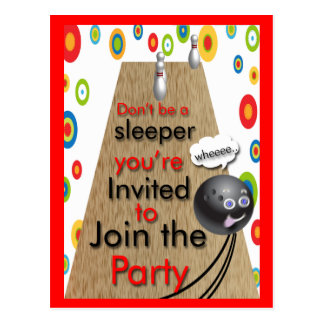 Join the Party Postcard