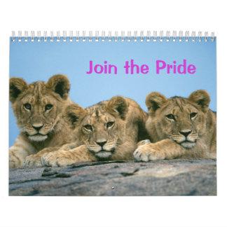 Join the Pride: Lion Calendar