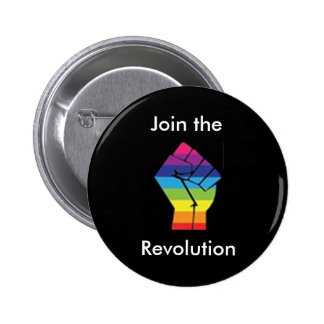 Join the Rainbow Revolution Button