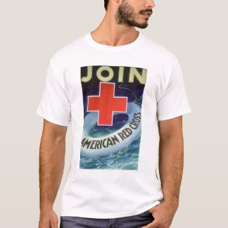Join the Red Cross - Life Saver (US00293) T-Shirt