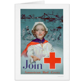 Join the Red Cross - Nurse (US00306) Greeting Card
