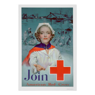 Join the Red Cross - Nurse (US00306) Poster