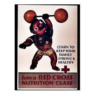 Join The Red Cross Nutrition Class Postcard