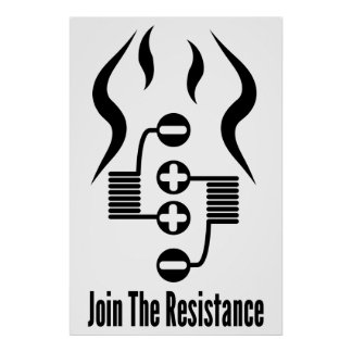 "Join The Resistance 24"" x 36"" Poster"