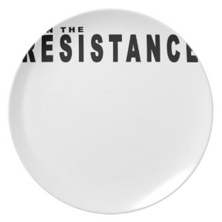 join the resistance t-shirts.png party plates