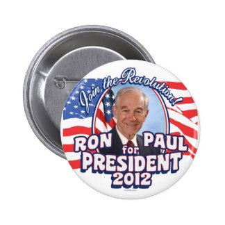 Join the Revolution 2012 Pinback Buttons