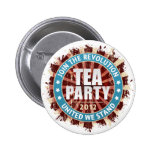 Join The Revolution 2012 Pinback Button