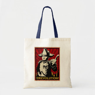 Join the revolution budget tote bag